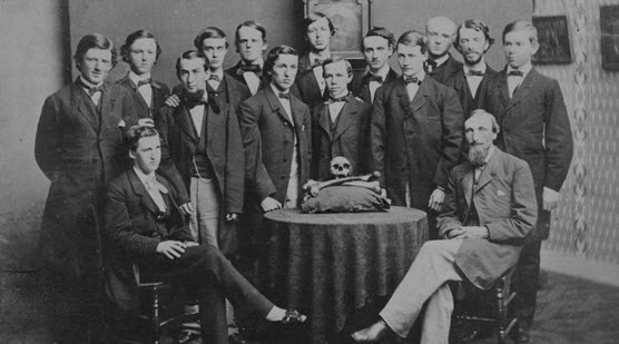 Skull and Bones members from the class of 1861