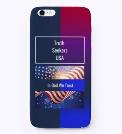 Truth Seekers USA iPhone Case